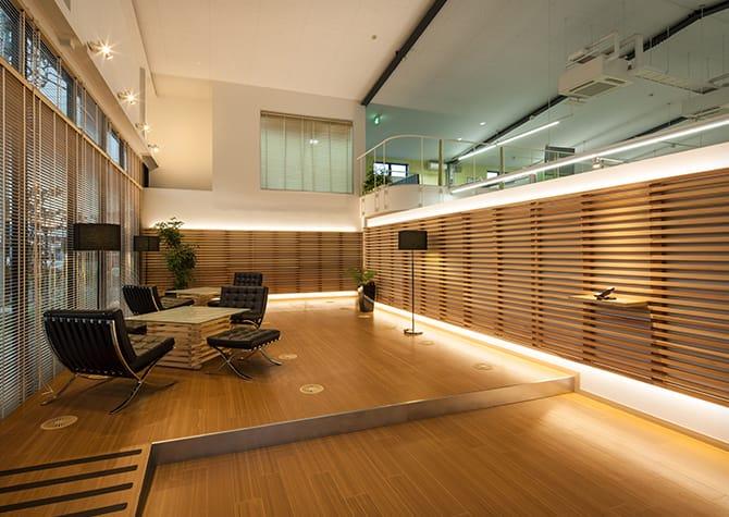 イズミシステム設計 高崎オフィスのエントランスの写真