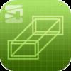 ダクトサイズ選定アプリ Duct-Fitのアプリアイコン画像